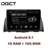 IDOICT Android 8.1 Car DVD Player GPS Navigation Multimedia For KIA optima K5 radio 2016 2017 car stereo bluetooth
