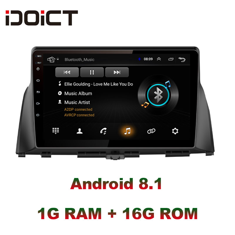 IDOICT Android 8.1 Auto DVD Player GPS Navigation Multimedia Für <font><b>KIA</b></font> optima <font><b>K5</b></font> radio <font><b>2016</b></font> 2017 auto stereo bluetooth image