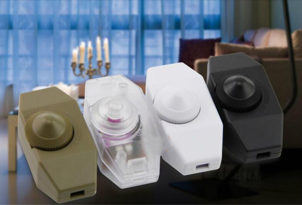 Regulador de intensidad de perilla interruptor l/ámpara de mesa ajustable luz regulable bot/ón accesorios