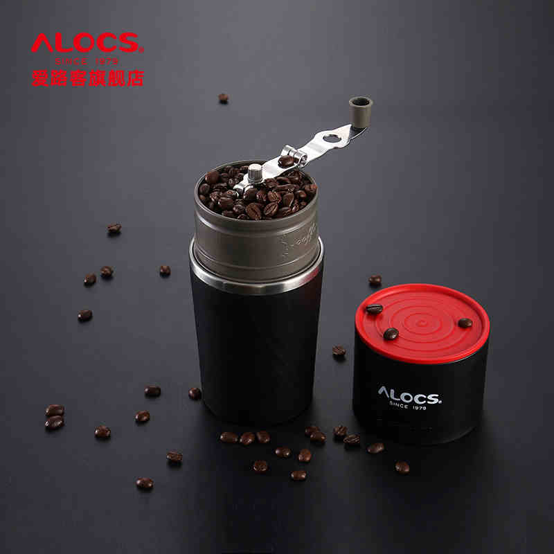 Crofton Coffee Maker With Grinder Instructions : ALOCS Outdoor Tableware Portable Coffee Maker 4 in 1 Stainless Steel Camping Manual Easy Coffee ...