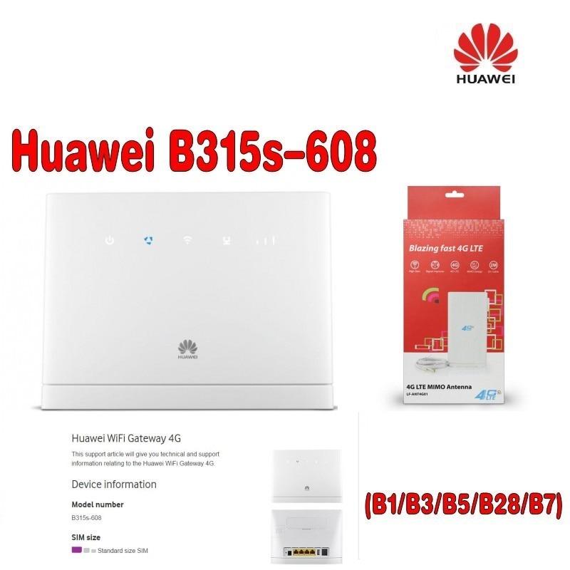 (plus + 4g Antenne Ts9 Sma 49dbi) Entsperrt Huawei B315 B315s-608 Lte Fdd 700/850/1800/2100/2600 Mhz