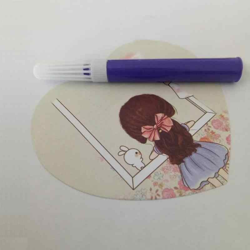12 สี Art MARKER ปากกาชุดเด็ก 0.5 มม.เครื่องหมายสีน้ำปลอดสารพิษปลอดสารพิษ Graffiti โรงเรียนเครื่องเขียน