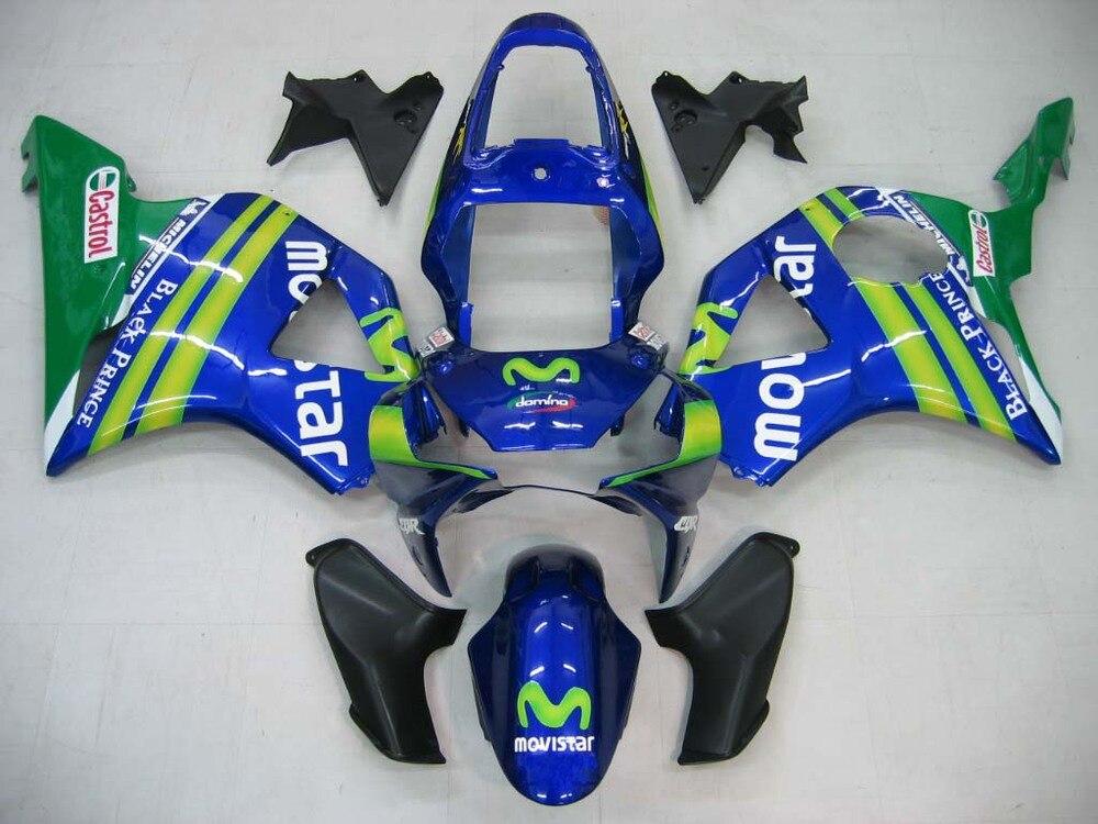 For Honda CBR 954 RR 2002 2003 CBR900RR ABS Plastic motorcycle Fairing Kit Bodywork CBR 954RR 02 03 CBR 900 RR CB04