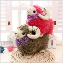 20cm NEW Cute  Sheep doll Plush Toys Doll For Children's Baby Birthday Holiday Gift Send Kids Lovely Soft Toy free delivery