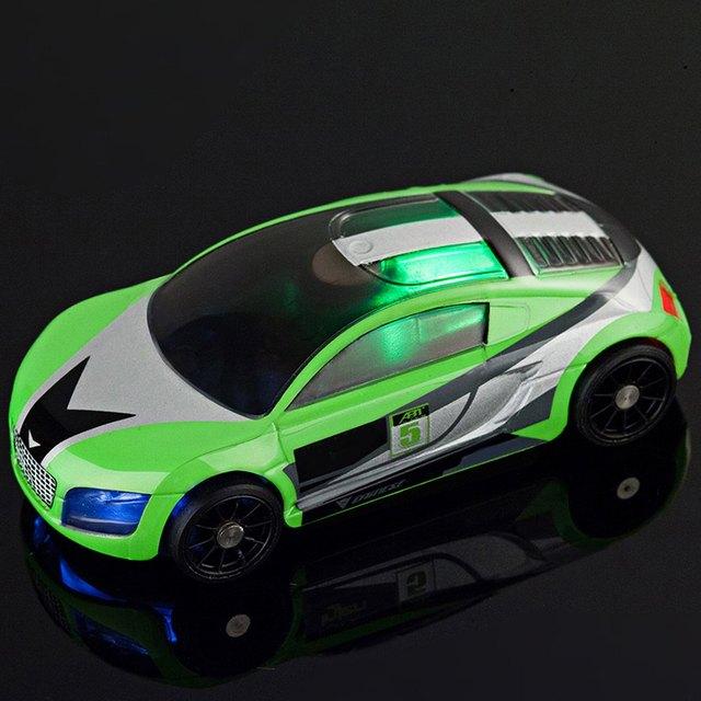 RC Carro 3D Interativo Inteligente Bolso Carro de Corrida de Controle Remoto veículos de Brinquedo Inteligente com Dois Substituir Caso de Corpo Presente Para crianças
