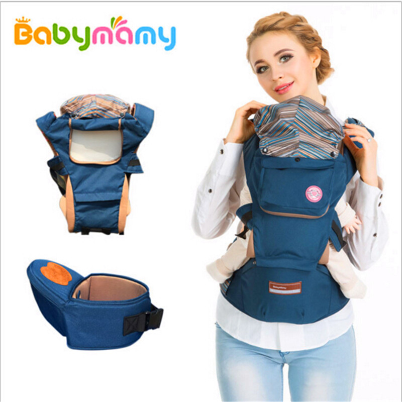 ФОТО 2016 Breathable Multifunctional Baby Carrier Infant Comfortable Sling Backpack Pouch Wrap Baby Suspenders Baby Care