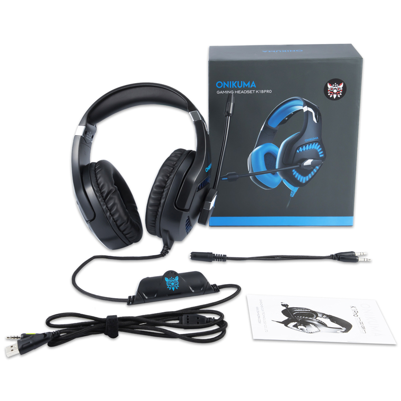 Stereo 3 5 mm Gaming Headset Gamer Earphone Noise Cancelling Mic Game Headphone With Microphone For Computer PS4 PC Xbox One in Headphone Headset from Consumer Electronics