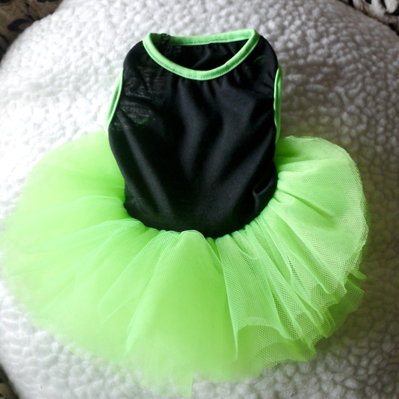 On Sale Green Dog Wedding Dress Summer Girl Pet Puppies Small Animal Princess Cat Dress Summer Clothes Tutu Accessories Yorkov