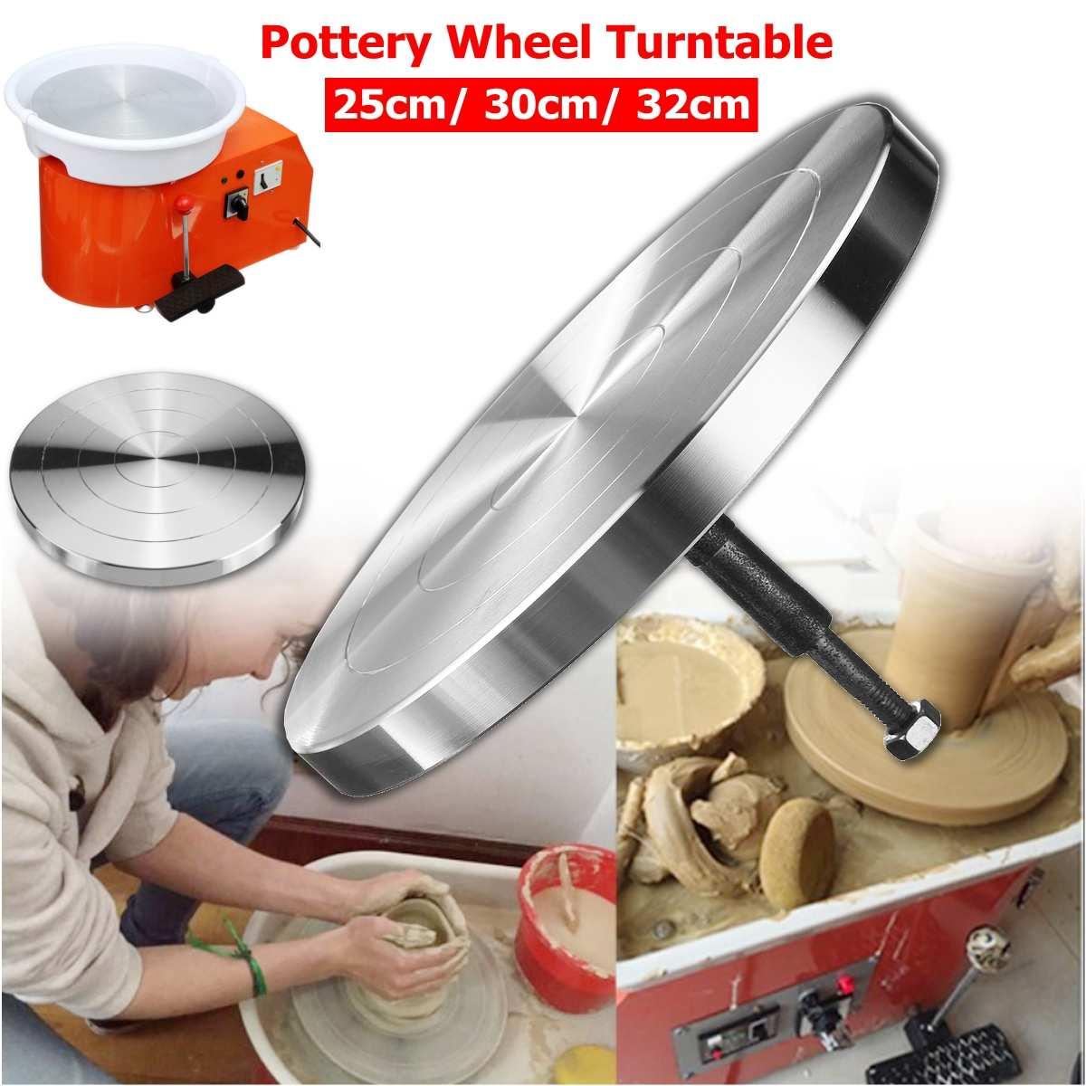 25/30/32 CM roue de poterie plaque tournante argile Sculpture modélisation pour Machine en céramique
