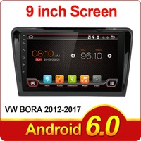Quad Cord 2 Din Android 6 0 Car Dvd 1024 600 For VW BORA 2012 2017