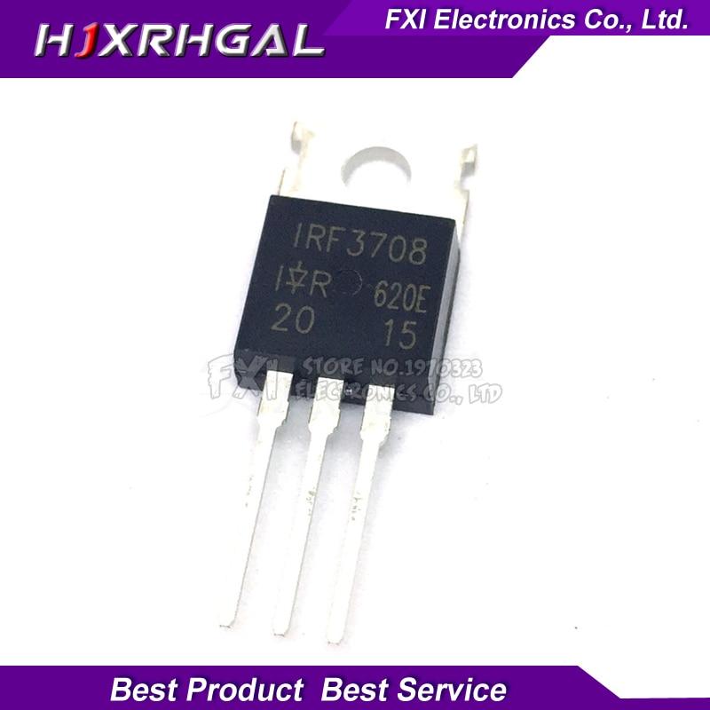 10pcs IRF3708 TO-220 30V 62A New Original