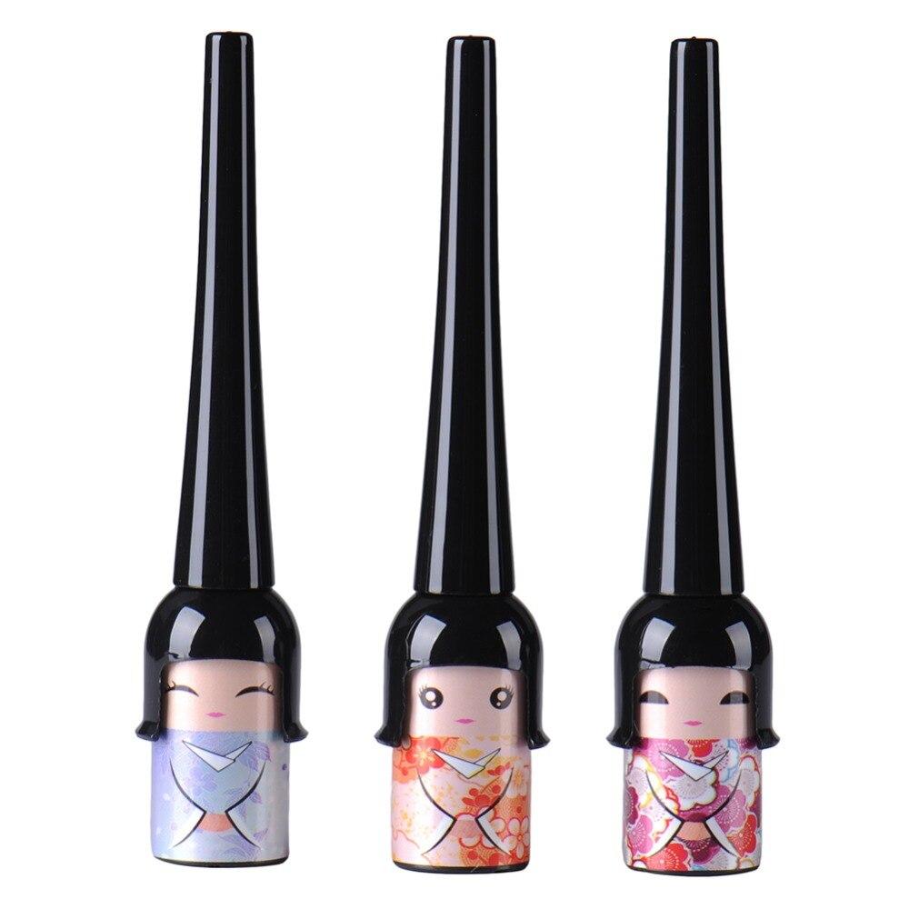 Łatwy w stosowaniu Kosmetyczny wodoodporny płynny eyeliner w - Makijaż - Zdjęcie 2