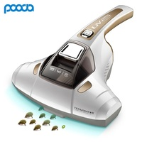 Pooda Mite Removal Instrument Household Vacuum Cleaner Mini Handheld Vacuum Cleaner Home Mites Bacteria Dandruff Kill