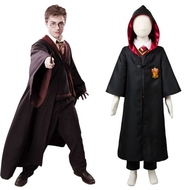 Kid Gryffindor Robe Costume Child School Uniform Cloak Hermione Granger Cosplay Costume Robe Outfit Free Shipping  sc 1 st  AliExpress.com & Kid Gryffindor Robe Costume Child School Uniform Cloak Hermione ...