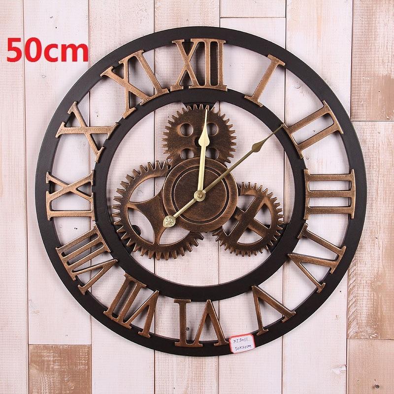 Online Get Cheap Vintage Large Wall Clock Aliexpresscom
