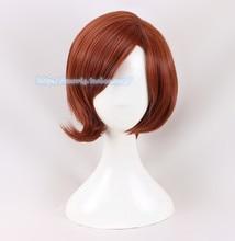 Anime Helen Parr Elastigirl Caschetto Corto Parrucca Cosplay Parrucche Per Le Donne + protezione della parrucca