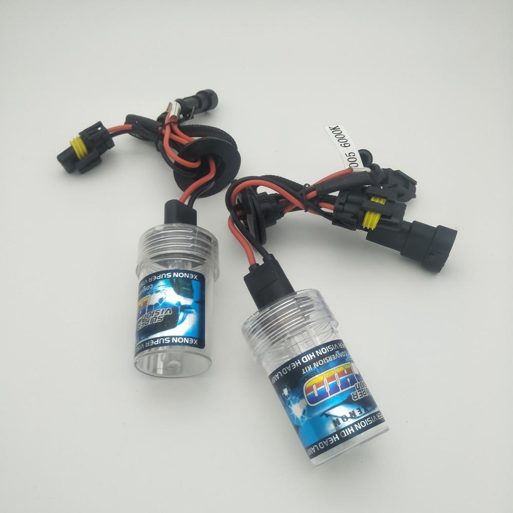 1pair 9005 9006 880 H1 H3 H7 H11 55W  HID Xenon Bulb 12V Auto Car Headlight Lamp  4300k 5000k 6000k 8000k 10000k 12000k