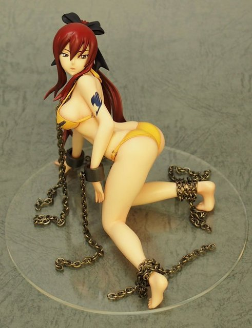 13cm Fairy Tail Elza Scarlet sexy Anime Action Figure PVC figures toys Collection for Christmas gift