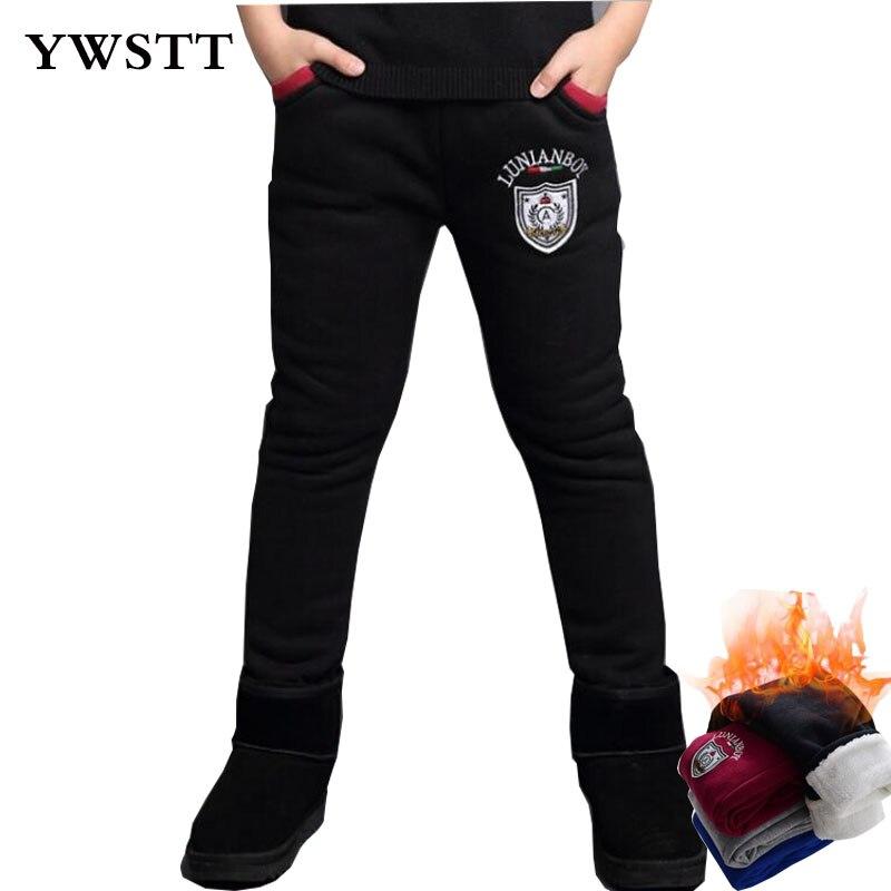 Hot Selling Winter Snow Children Warm Pants Elastic Top Boy Long Kids Plus Velvet Underwear Students Thermal Leggings