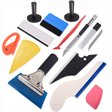 FOSHIO Vinyl Wrap Car Tools Set Carbon Fiber Magnet Holder Window Tint Squeegee Sticker Wrapping Film Cutter Accessories Kit