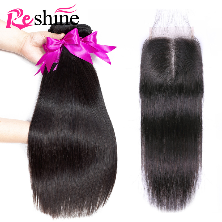 Peruvian Straight Hair Bundles With Closure Human Hair Bundles With Closure BFF GIRL Hair Non Remy