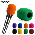 + Best Price+Free Shipping + Handheld Stage Microphone Windscreen Foam Mic Cover Karaoke DJ Sales Purple Easy To Use