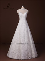 Poemssongs High Quality New Style Beautiful Lace With High Neck Wedding Dress For Wedding Gowns Vestido