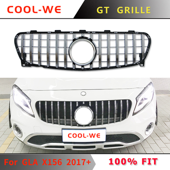 For Mercedes Benz for GLC Class X156 GT Grille Front Bumper Racing Grill 2017-2019 GLC200 GLC250 GLC260