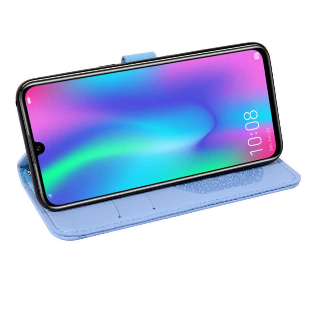 Оригинальный Официальный чехол для Huawei P9 P8 P20 pro P30 lite Y5 Y9 2018 Y7 2019 Honor 7A 8X mate 20 lite кожаный чехол-кошелек для телефона