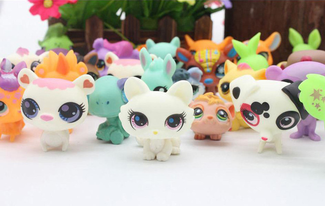 20Pcs/bag Little Cat Pet Shop Mini Toy