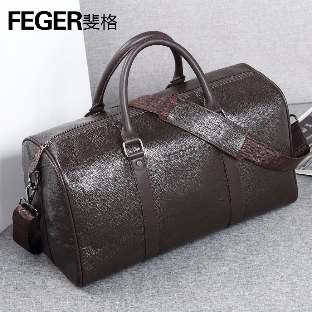 Luxury Brand Designer Genuine Leather Men's Travel Bags Business First Layer Cow Leather Travel Duffle for Gentlemen italians gentlemen пиджак