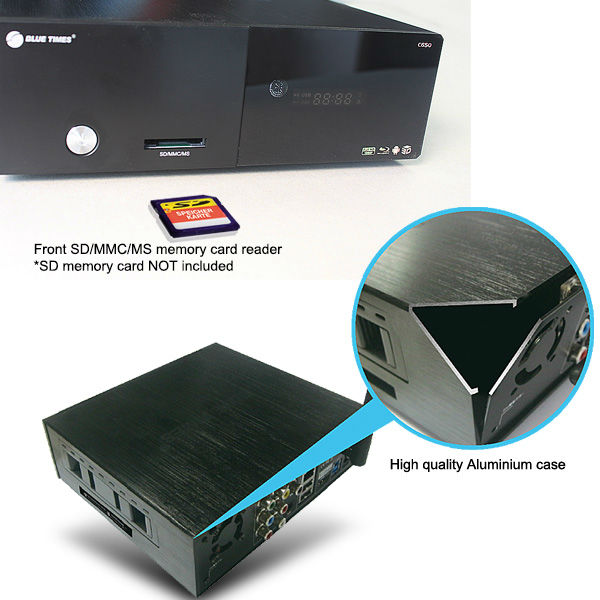 Bluetimes 3546B 3D Android 1080p H.264 MKV Network USB 3.0 Enclosure Wifi HDMI HDD TV Media Player Free Shipping