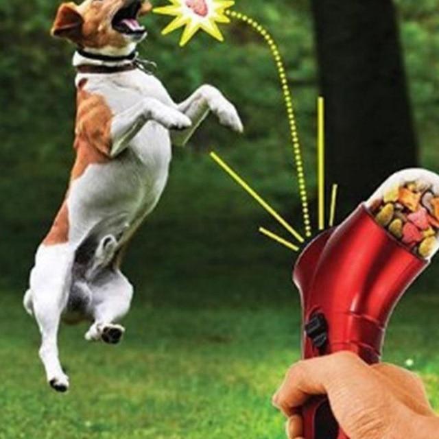 Собака кошка игрушка Еда лечить Launcher интерактивные игрушки для животных весело смотреть собак Охота тренинги keen Перейти игры для собак подачи инструменты