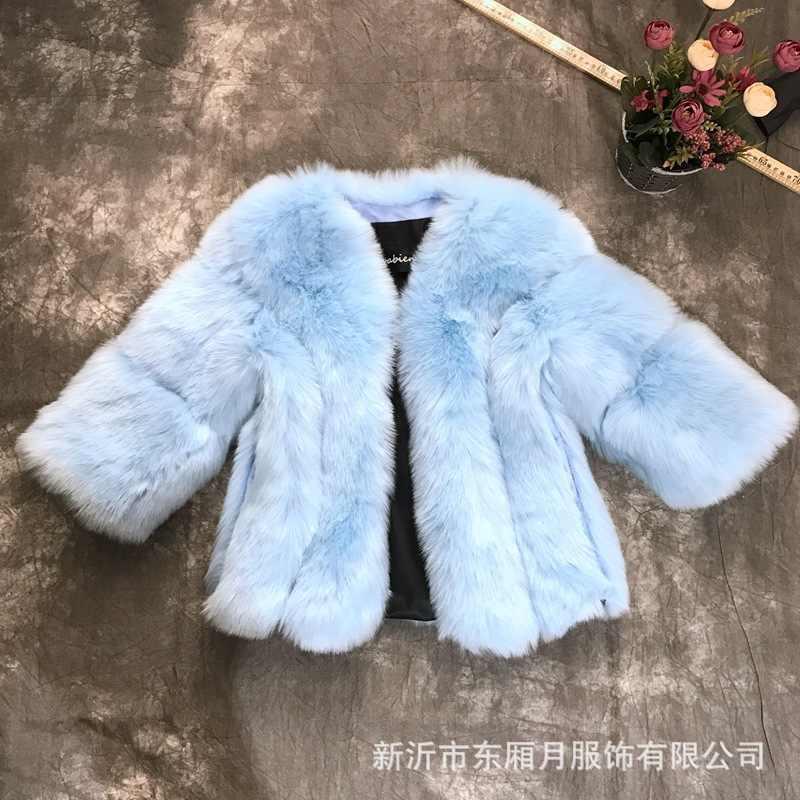 Индийское сари платья индийская одежда сари 2017 хлопок зима горячая новинка имитация меха лисы куртка рукав семь женщин Стеганое пальто