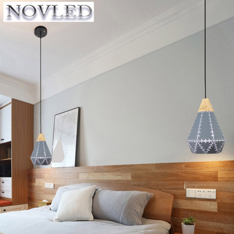 Iron Color Paint Personality Creative Design Modern Bar Restaurant E27 LED Chandelier Bedroom Livingroom Studyroom Without Bulb