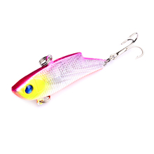 1pc, YUZI 5.5cm 9.9g  Vibration Sinking Fishing Lures Lipless Crankbait Wobbler Hard Bait Vib Rattle for Bass Pike