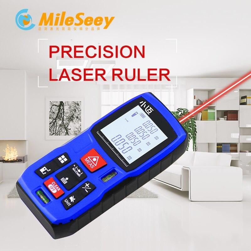 Mileseey MINI Meter Laser Abstand Meter Entfernungsmesser Finder Handheld Messen Präzise Messung werkzeug