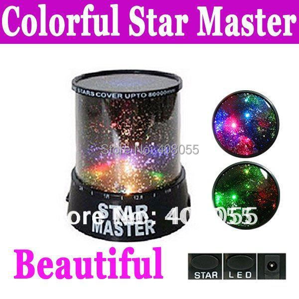 Light Mini Projector Led  Star with colorful stars for indoor party projectors mini star (0217069)