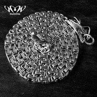 Стоящий Тактический Ручной Браслет уличный инструмент EDC титановая сталь защита хлыст выживания ожерелье цепь дропшиппинг