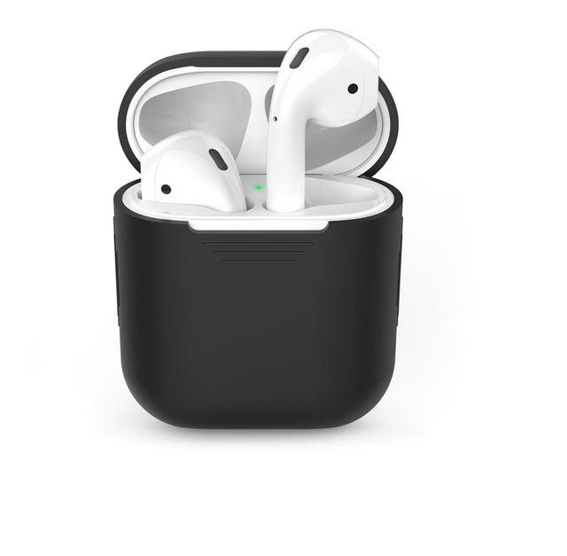 AirPods Wireless Bluetooth TPU Silicone Headphone Case Cover for Apple Wireless Bluetooth Headset Charging Case Cover