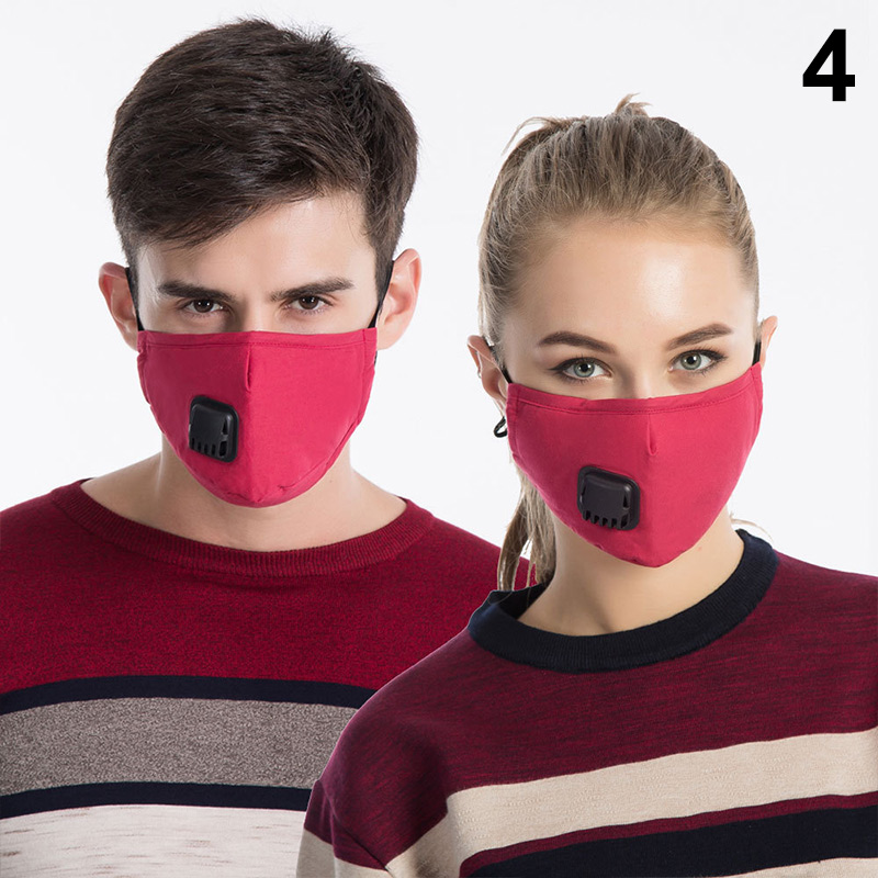 Hot 1 Pcs Mouth Face Mask Cotton Dustproof Breathable PM2.5 For Outdoor Cycling Winter MSK66