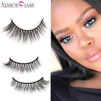 Free Shipping Fashion Style Luxury 100 Real Mink Strip Lashes 3D Eyelashes Natural Long Soft Mink