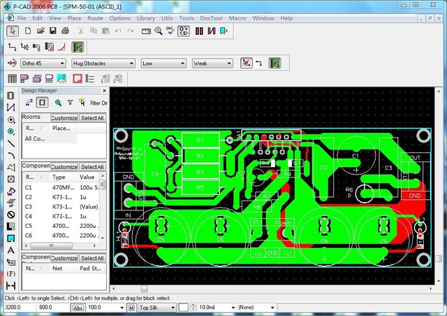 P CAD2006/Quick turn printed circuit boards/P CAD 2006 to make pcb ...