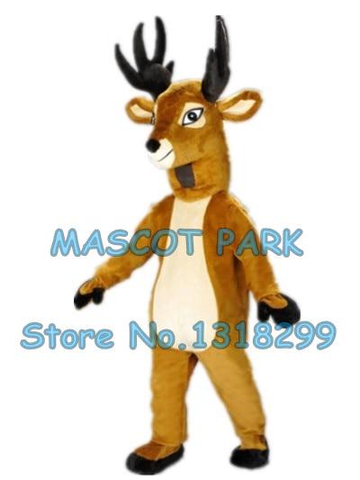 new Christmas deer mascot costume factory custom adult size holiday promotion rudoph reindeer deer mascotte costumes 2976