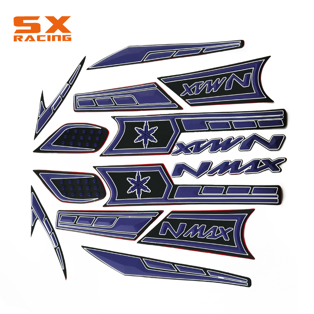 Motorcycle Rubber Stickers Whole Body For Yamaha NMAX 150 NMAX-150 NMAX 150 15 15 150