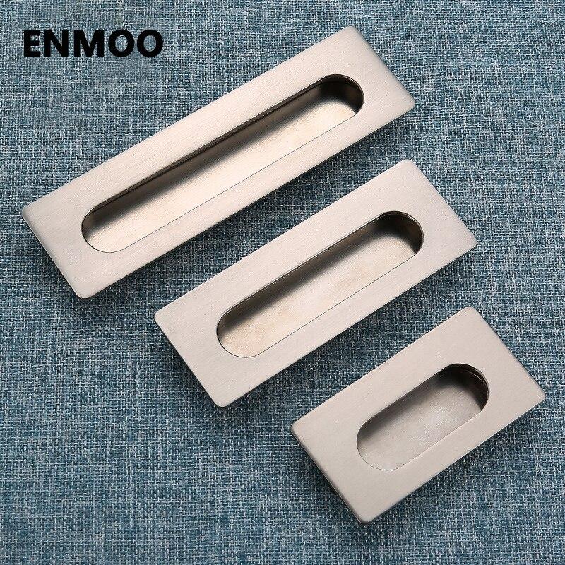 Hidden Handle Hideaway Zinc Alloy Cabinet Door Handle Tiradores Para  Cajones Need Slotted Hidden Door Handles YJ2042 In Cabinet Pulls From Home  Improvement ...