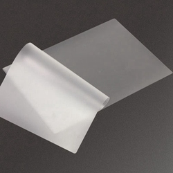 100 pçs/lote 50 mic, A4 Estratificação Térmica Filme PET Para A Foto/Arquivos/Cartão/Foto Laminação rolo de Filme Plástico Filme