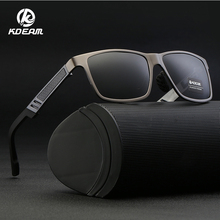KDEAM Men Polarized Sunglasses Driving Fishing HD Glasses Rectangle For Men/Women Oculos masculino Male KD6560S