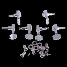 High Quality 6 Chrome Guitar String Tuning Pegs Tuners Machine Heads Acoustic Electric SL SS