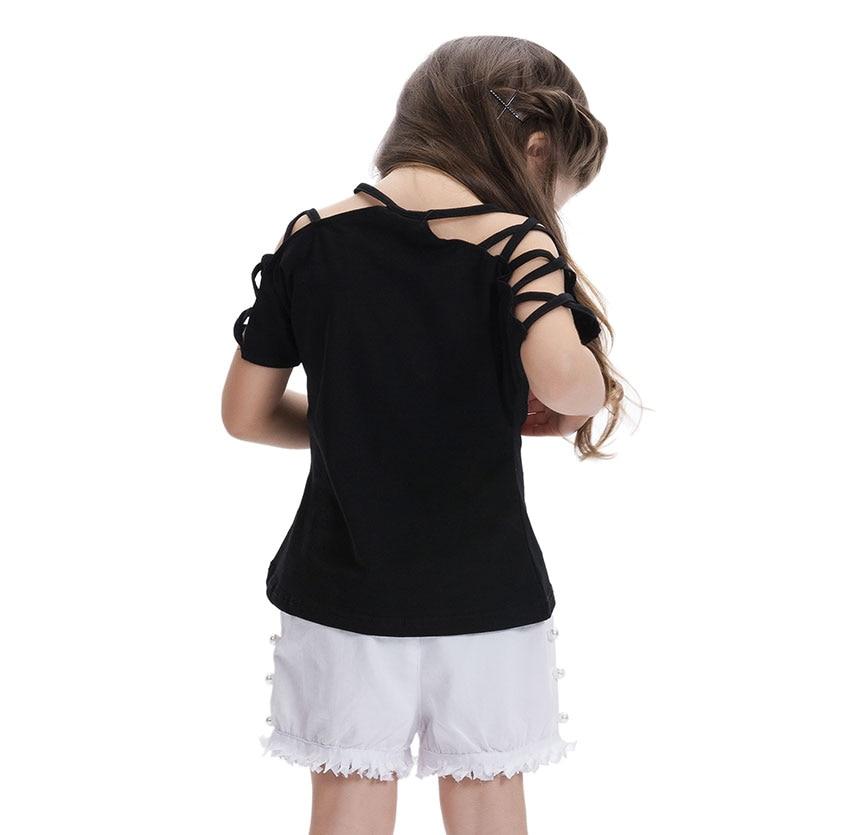 Hartkleur Veranderende Omkeerbare Pailletten Harten Meisjes T-shirts - Kinderkleding - Foto 3